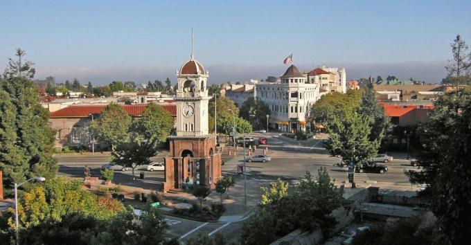 Source: Wikipedia.  Downtown Santa Cruz