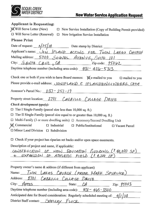 Twin Lakes Application Copy