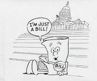 A Bill becoming law