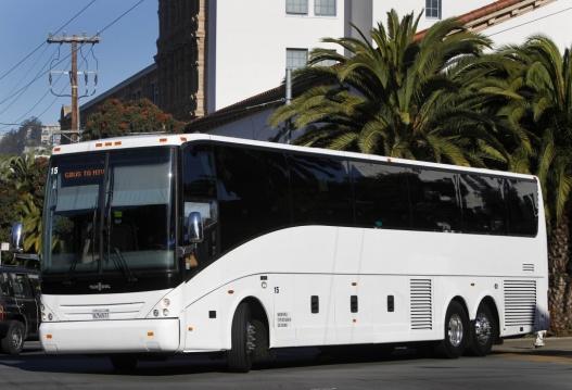 Google company shuttle. Photo: SF Gate