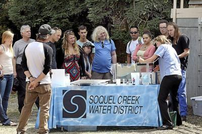 Outreach conducted by the Soquel Creek Water District