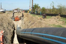 An approximately 3' pipeline being installed near Austin TX is the same size as the one proposed to divert water to Loch Lomand.