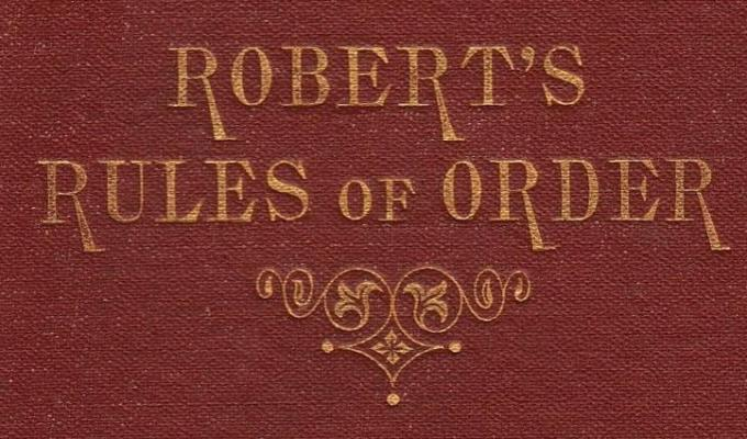 Rules of Order