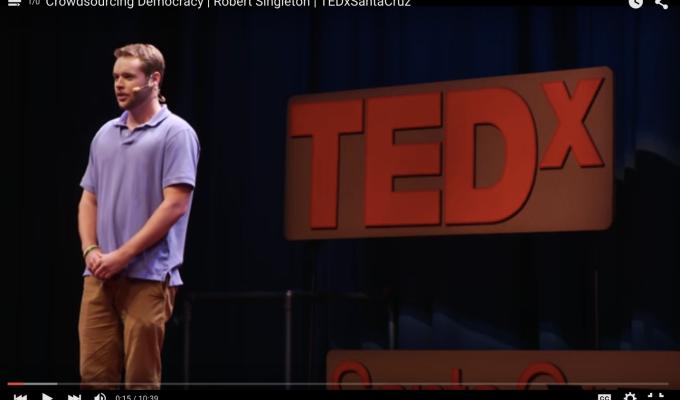 Civinomics Cofounder Robert Singleton's TEDTalk